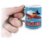 Airplane Espresso Cups (Personalized)