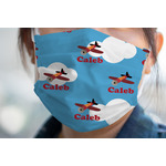 Airplane Face Mask Cover (Personalized)