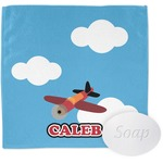 Airplane Wash Cloth (Personalized)