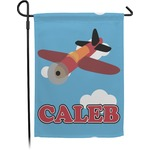 Airplane Garden Flag (Personalized)