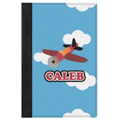 Airplane Genuine Leather Passport Cover (Personalized)