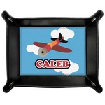 Airplane Genuine Leather Valet Tray (Personalized)