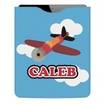Airplane Genuine Leather iPad Sleeve (Personalized)