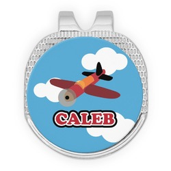 Airplane Golf Ball Marker - Hat Clip