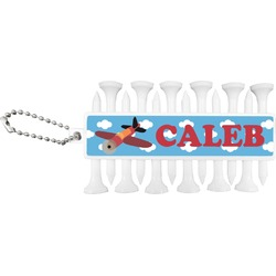 Airplane Golf Tees & Ball Markers Set (Personalized)