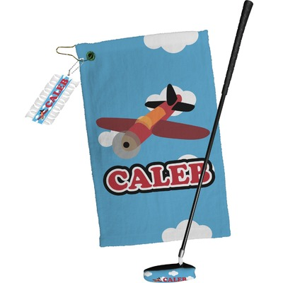 Airplane Golf Towel Gift Set (Personalized)