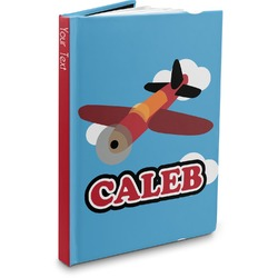 Airplane Hardbound Journal (Personalized)