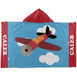 Airplane Kids Hooded Towel (Personalized)