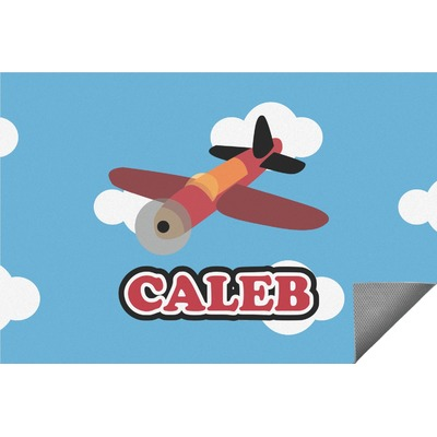 Airplane Indoor / Outdoor Rug (Personalized)
