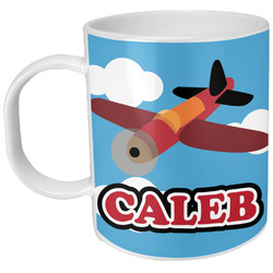Airplane Plastic Kids Mug (Personalized)