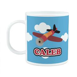 Airplane Plastic Kids Mug (Personalized)