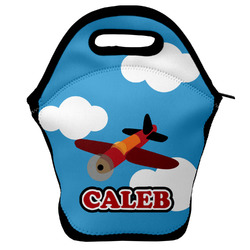 Airplane Lunch Bag w/ Name or Text