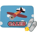 Airplane Memory Foam Bath Mat (Personalized)