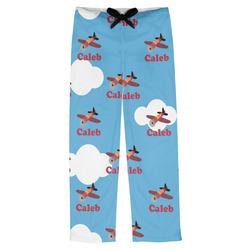 Airplane Mens Pajama Pants - XS (Personalized)