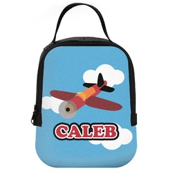 Airplane Neoprene Lunch Tote (Personalized)