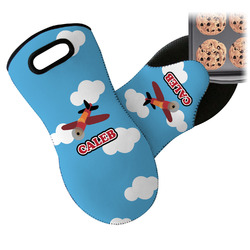 Airplane Neoprene Oven Mitt (Personalized)