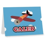 Airplane Note cards (Personalized)