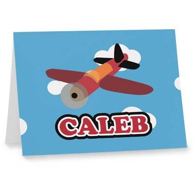 Airplane Notecards (Personalized)