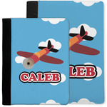 Airplane Notebook Padfolio w/ Name or Text