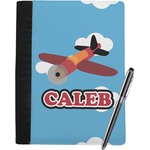 Airplane Notebook Padfolio (Personalized)