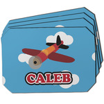 Airplane Dining Table Mat - Octagon w/ Name or Text
