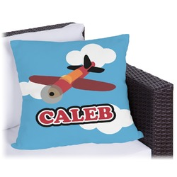 Airplane Outdoor Pillow (Personalized)