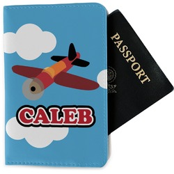 Airplane Passport Holder - Fabric (Personalized)