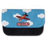 Airplane Canvas Pencil Case w/ Name or Text