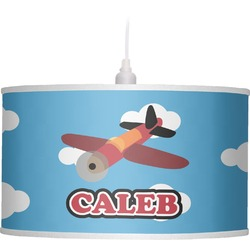 Airplane Drum Pendant Lamp (Personalized)
