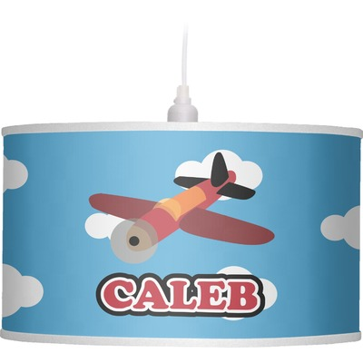 Airplane Drum Pendant Lamp (Personalized)
