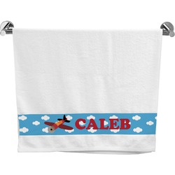 Airplane Bath Towel (Personalized)