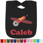 Airplane Bib - Select Color (Personalized)