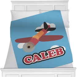 Airplane Minky Blanket (Personalized)