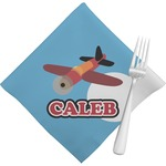 Airplane Napkins (Set of 4) (Personalized)
