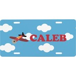 Airplane Front License Plate (Personalized)