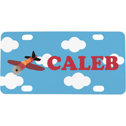 Airplane Mini / Bicycle License Plate (Personalized)