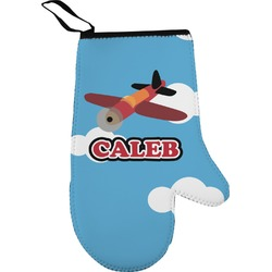 Airplane Right Oven Mitt (Personalized)