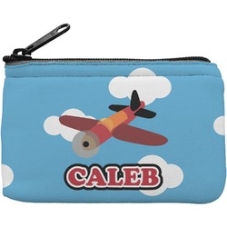 Airplane Rectangular Coin Purse (Personalized)