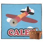 Airplane Outdoor Picnic Blanket (Personalized)