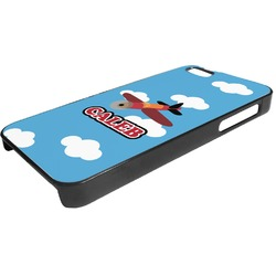 Airplane Plastic iPhone 5/5S Phone Case (Personalized)