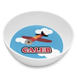 Airplane Melamine Bowl 8oz (Personalized)