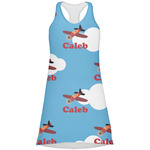 Airplane Racerback Dress (Personalized)