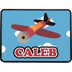 """Airplane Rectangular Trailer Hitch Cover - 1.25"""" (Personalized)"""