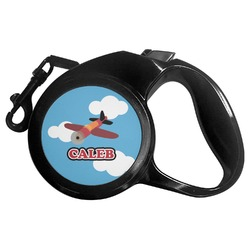 Airplane Retractable Dog Leash (Personalized)