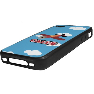 Airplane Rubber iPhone Case 4/4S (Personalized)