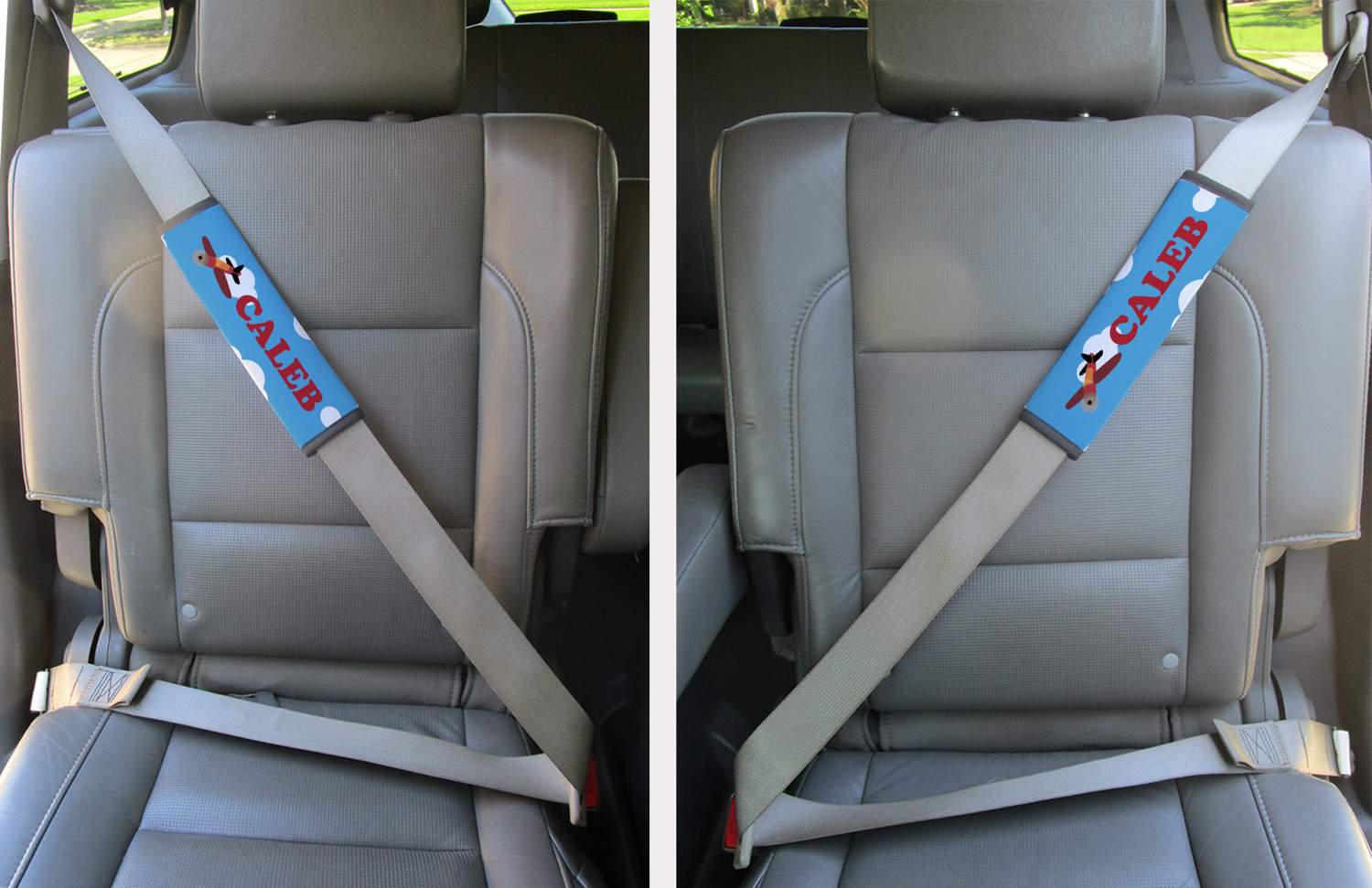 Airplane Seat Belt Covers Set Of 2