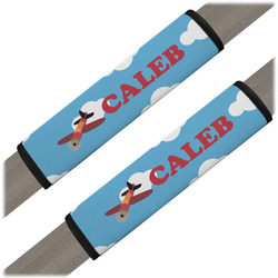 Airplane Seat Belt Covers (Set of 2) (Personalized)