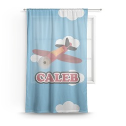 Airplane Sheer Curtains (Personalized)