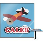 Airplane Square Table Top (Personalized)