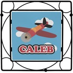 Airplane Square Trivet (Personalized)